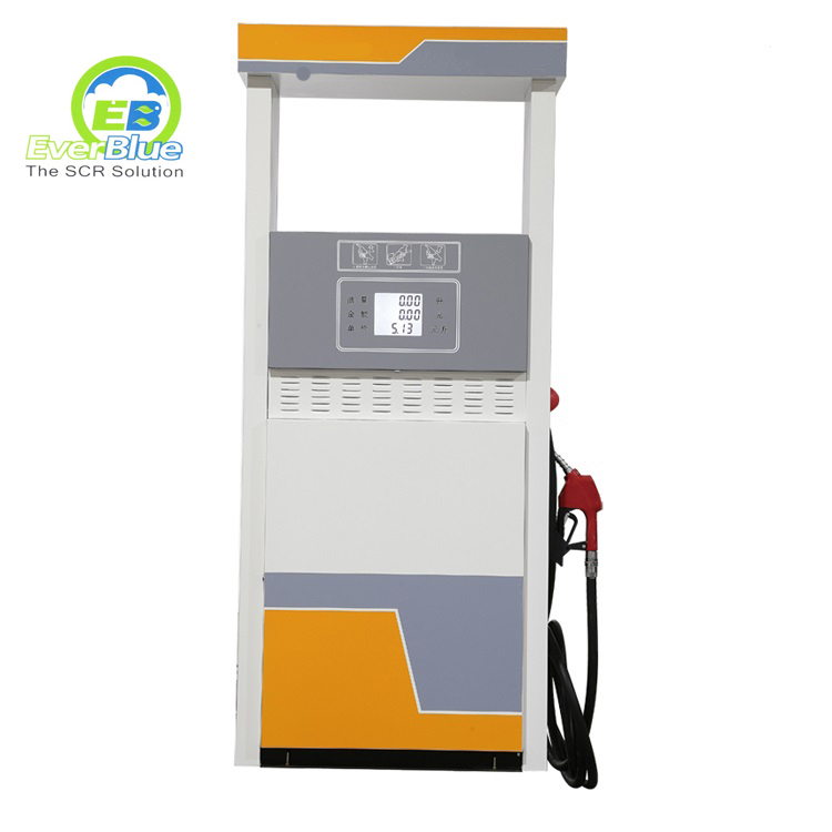 Durable single nozzle and dispaly diesel fuel dispenser