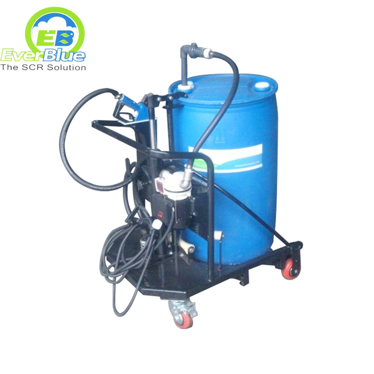 Specially trolley filling tool for AdBlue 205 Liter drum
