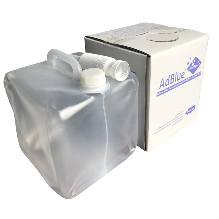 Soft plastic bag AdBlue urea solution for diesel vehicle