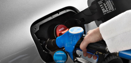 AdBlue DEF for diesel engine to reduce emission